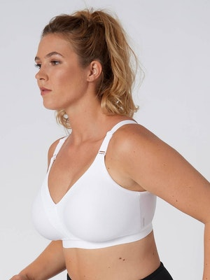 Triaction Wellness Wirefree Bra - White