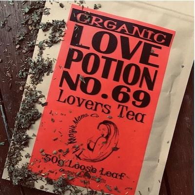 The Magik Mama Co Love Potion No 69 Tea   Lovers Brew