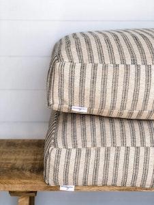 Floor Cushion Cover - Farmhouse Jute