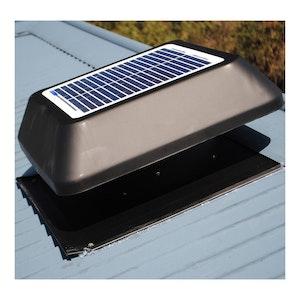 Roof Ventilator Solar Powered Brushless Motor Whisper Quiet Kimberley KSV200