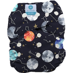 Tutto - One Size Fits Most PUL Nappy: Luna