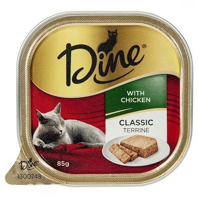 Dine Daily Classic Chicken Classic Terrine Cat Food 7 x 85g