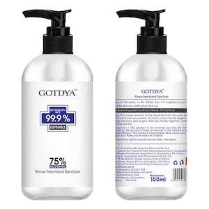 GOTDYA Hand Sanitizer 300ML