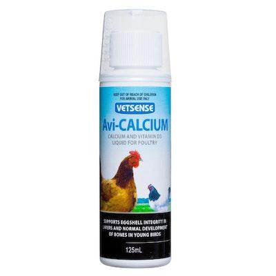 Vetsense Avicalcium Poultry Bird Supplement w/ Vitamin D3 Bones - 2 Sizes