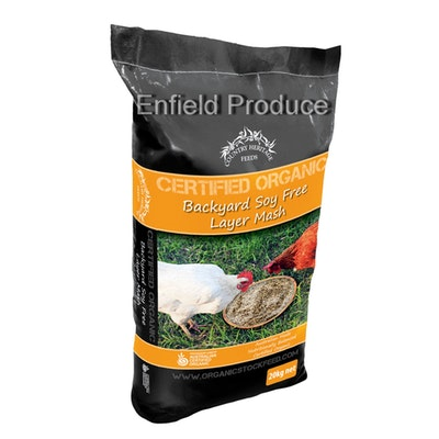 Country Heritage Organic Backyard Soy Free Vegetarian Mash Poultry Feed 20kg