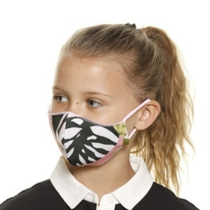 The Soft Jungle - Reversible Face Mask