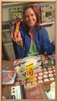 Aussie expat Kylie Morrison in heaven. Vegemite, Turkish Delight and Cherry Ripe
