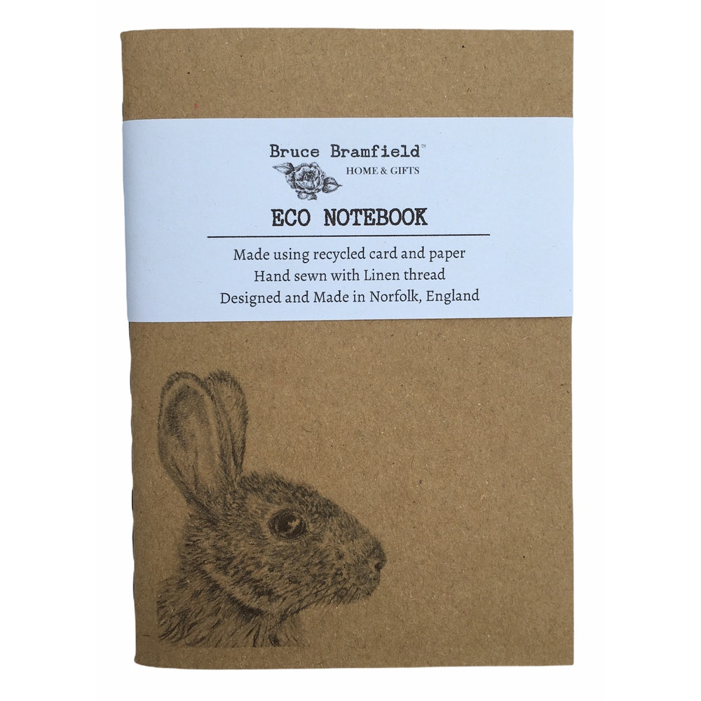 Bruce Bramfield Wild Rabbit Eco Notebook