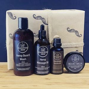 Blackwood Hemp Beard Love Box | Hemp Grooming and Pamper Set