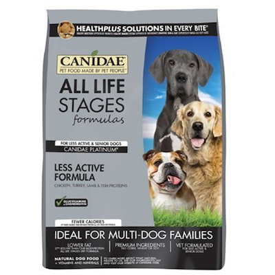 Canidae All Life Stages Senior Less Active Dog Food 13.6kg