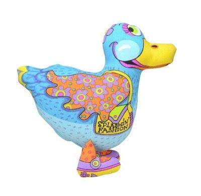 Petstages Madcap Splashin Fashion Duck