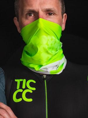 TIC CC Neck warmer Neon lime