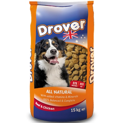 Coprice Drover Dog Food All Natural Beef & Chicken Vitamins and Minerals 15kg