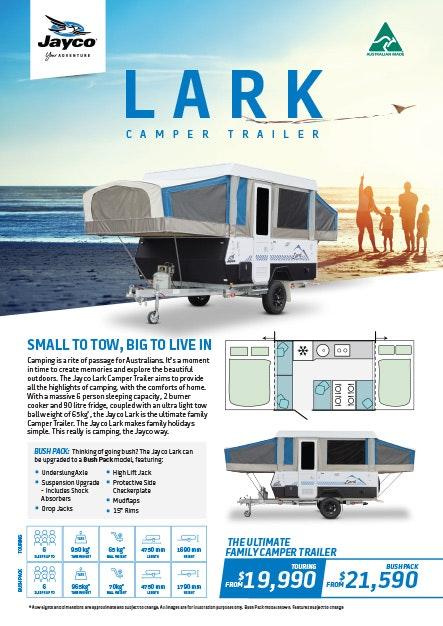 Lark Camper Trailer