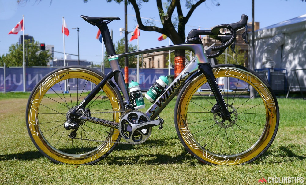 Peter Sagan Gold Specialized Venge ViAS Disc 2017 TDU 1