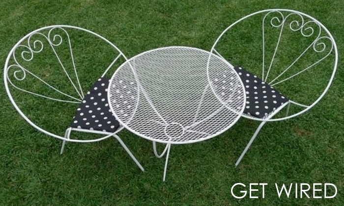Buying Wire Chairs & Furniture