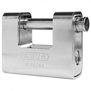 ABUS High Security Monoblock Padlock -92/80 -80mm Ideal Shipping Container Padlock