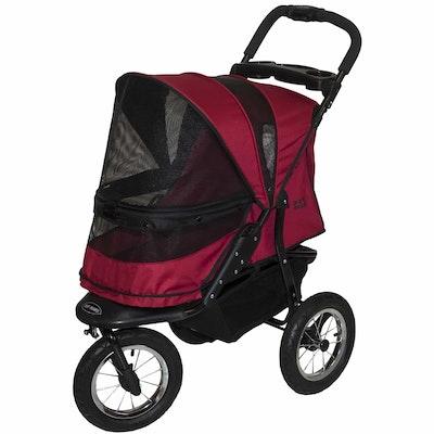 Pet Gear Jogger No Zip Pet Stroller  Rugged Red