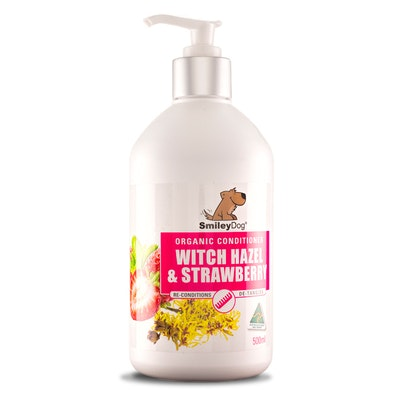 Smiley Dog Organic Extract Witch Hazel & Strawberry Conditioner