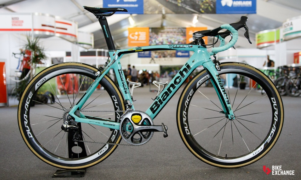 bikes of the 2017 worldtour lotto nl jumbo bianchi oltre xr 4