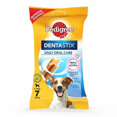 Pedigree Dog Treats Dentastix Small Breed Oral Care - 4 Sizes