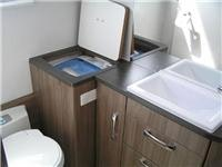 Jayco Silverline ensuite with washing machine