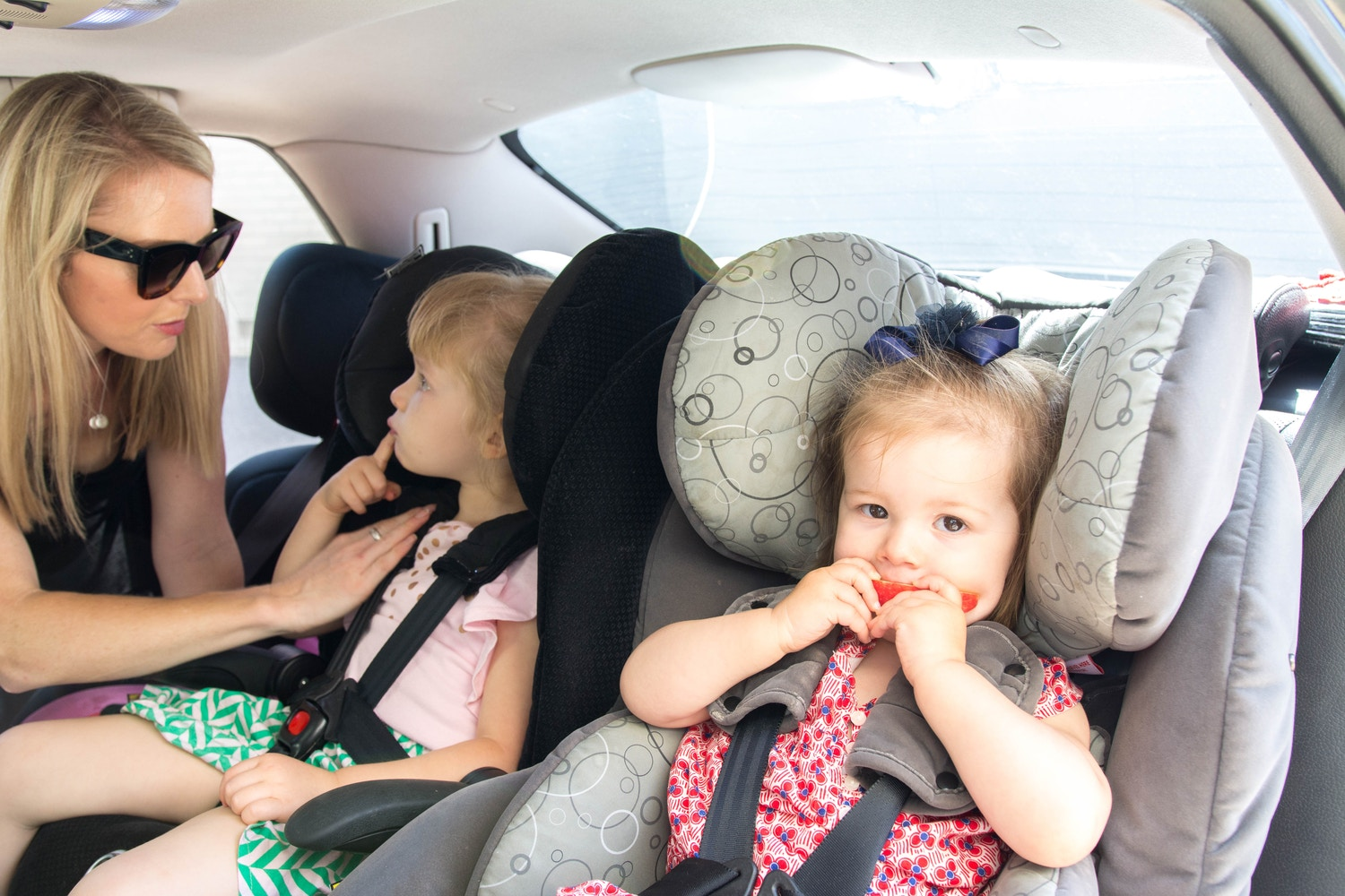 Journey to one, two, three car seats