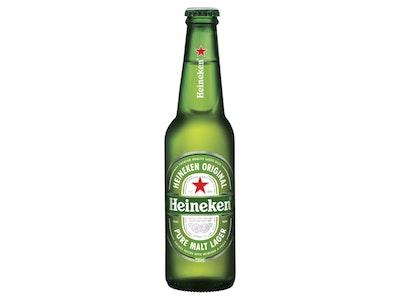 Heineken Lager Bottle 330mL