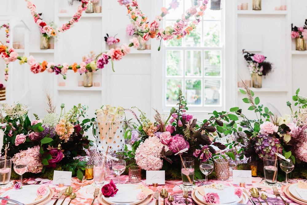 FEMININE FLOWER BOHO WEDDING