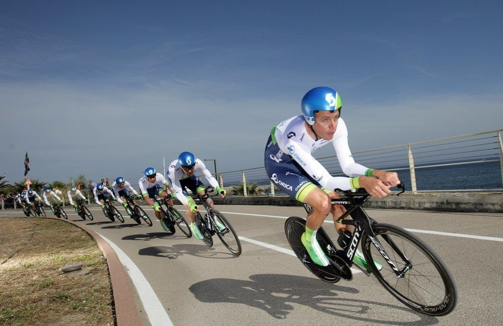 Get the Orica-GreenEDGE Look