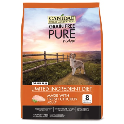 Canidae Pure Dog Grain Free Adult Chicken, Lentil & Pea Dry Dog Food