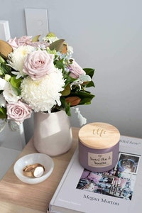 Jasmine and Sweet Pea Canister Candle