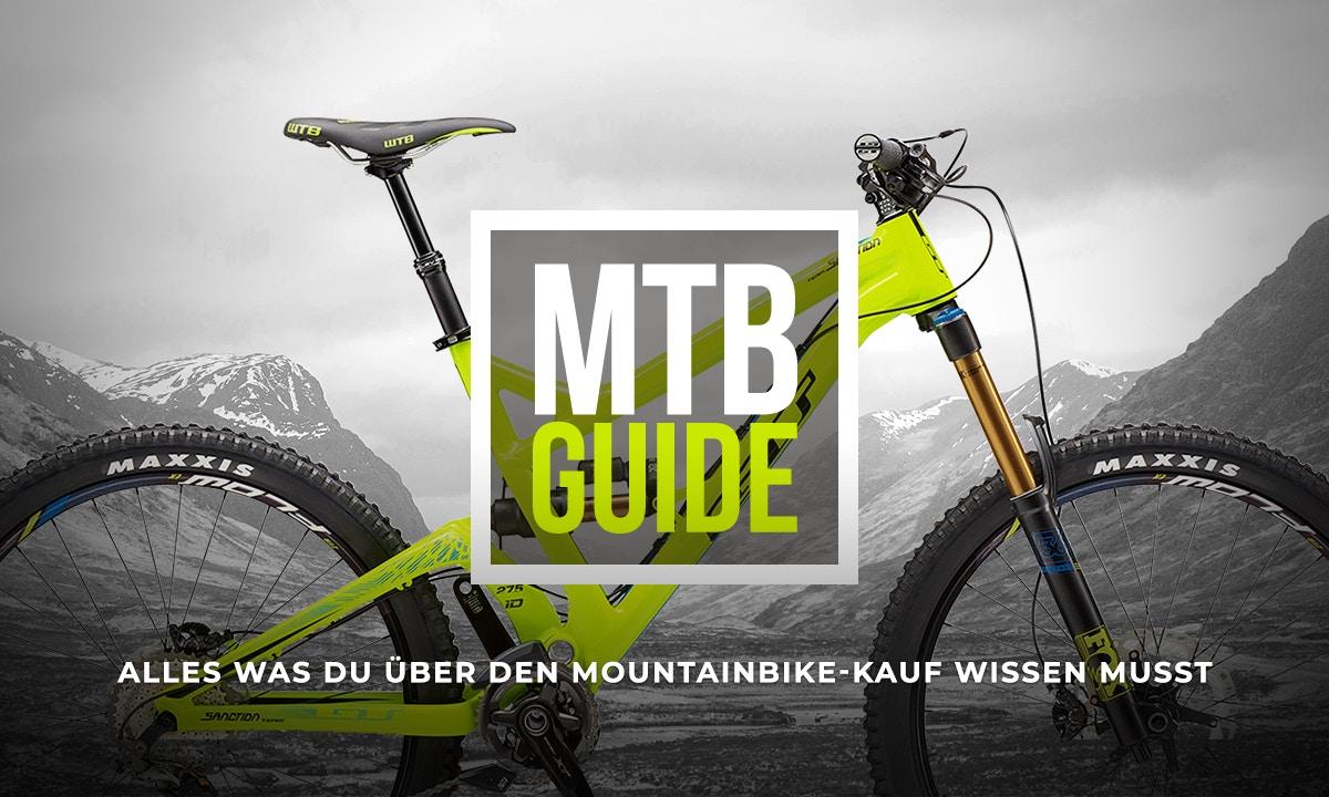 Mountainbike Kaufberatung - Alles was du wissen musst