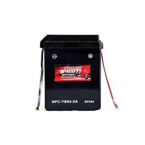 Power AGM 6V 4AH Motorcycle Battery