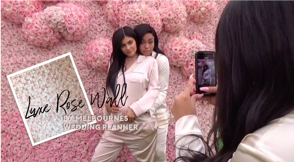 Kylie Jenner Rose Wall