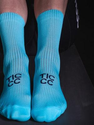 TIC CC Parcours socks Arctic blue