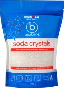 Bexters Soda Crystals 800g Muscle Pain Relief