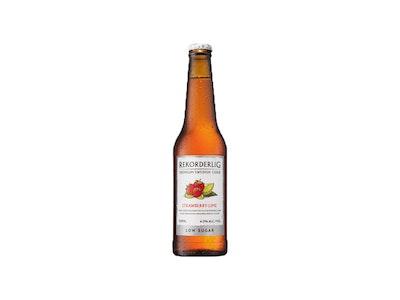 Rekorderlig Premium Strawberry and Lime Low Sugar 330mL