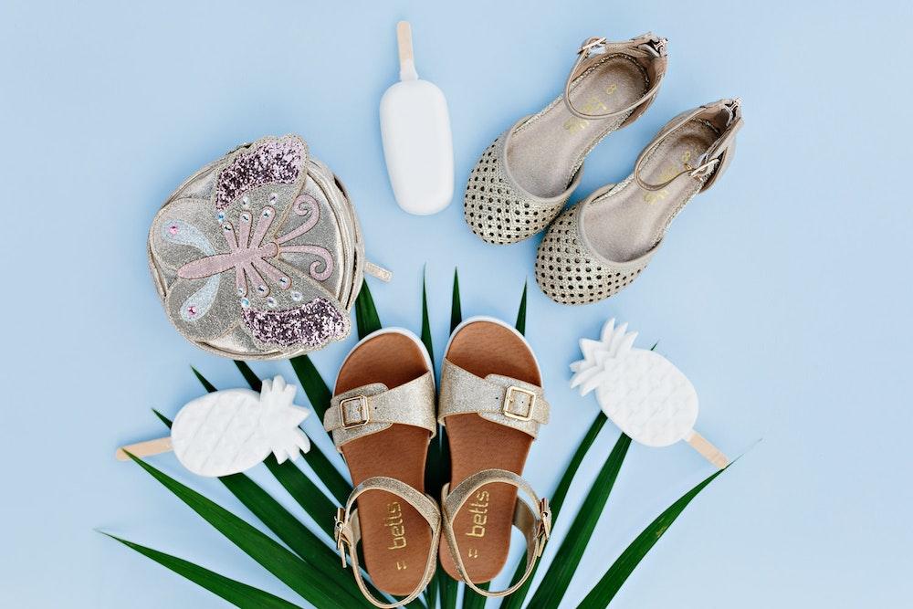 LENZO Betts Kids Summer Sandals