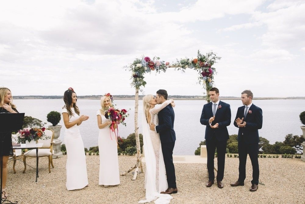 COLOURFUL WEDDING AT CAMPBELL POINT HOUSE, VERITY + BRAD