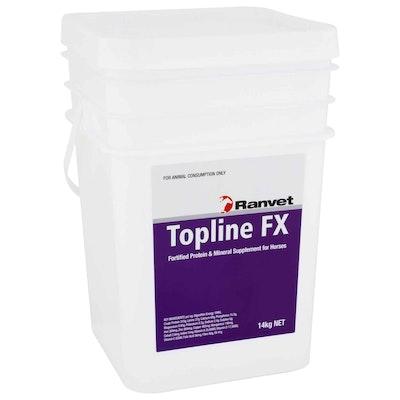 Ranvet Topline FX Horses Fortified Protein & Mineral Supplement 14kg