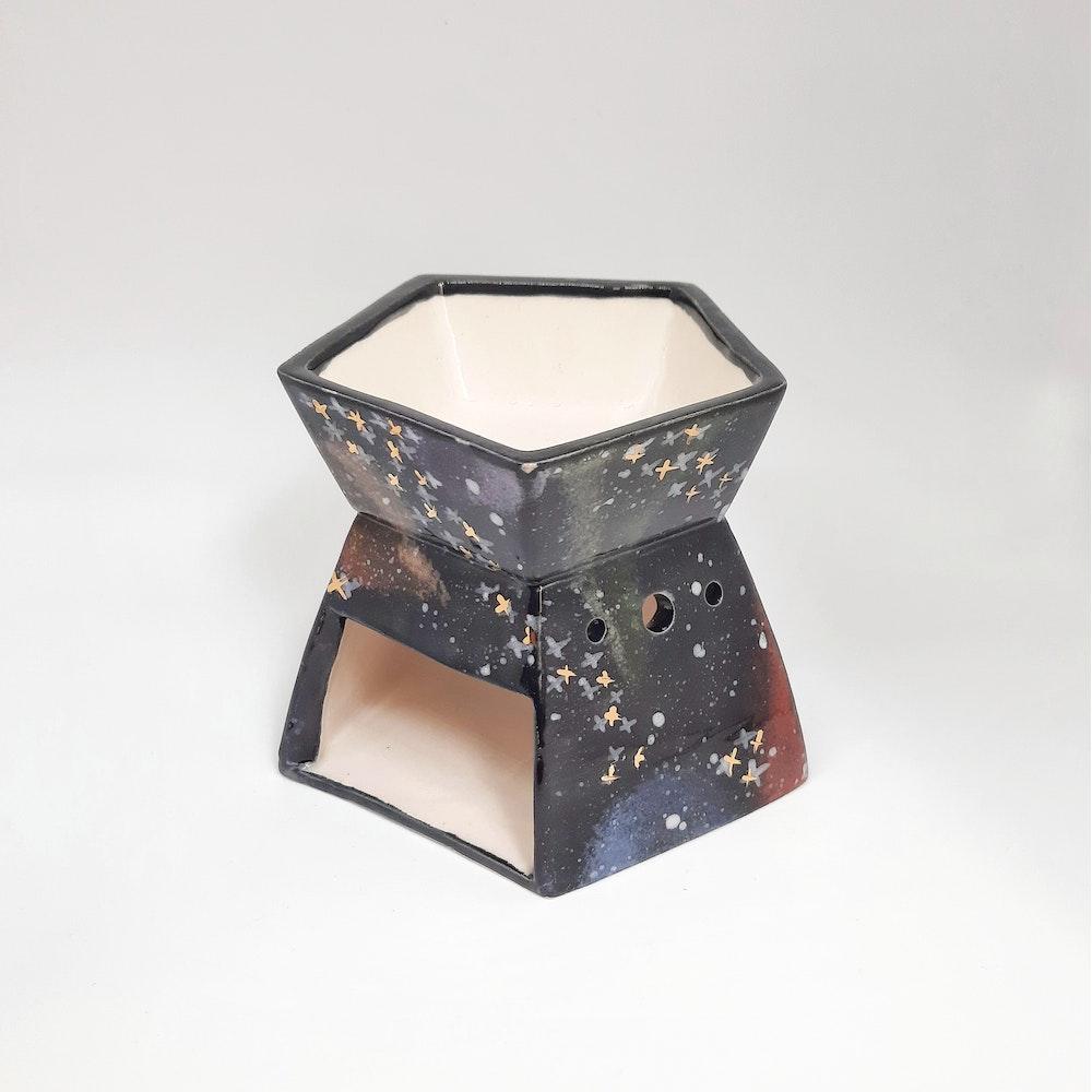 Lauren Michelle Designs  Cosmic Skies Galaxy Wax Burner