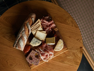 French Antipasto Platter for Two