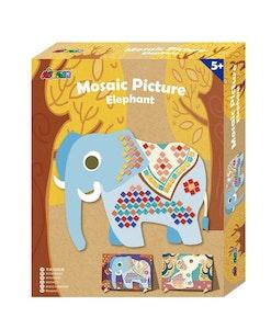 Avenir - Mosaic Picture - Elephant