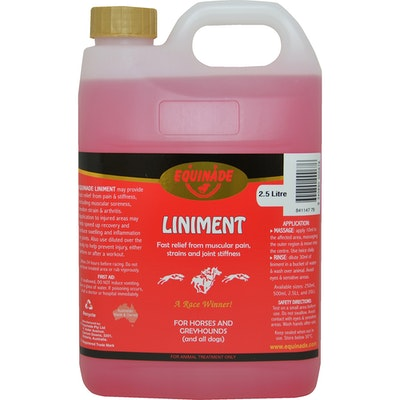 Equinade Liniment Oil Muscular Pain Relief Horse Liniment 2.5L