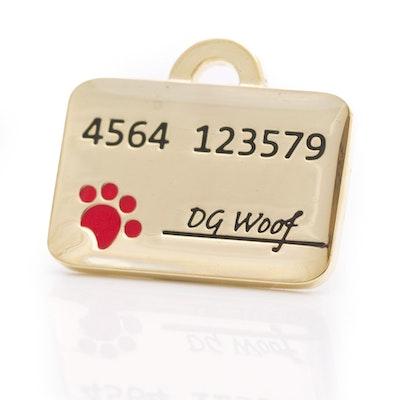 Hamish McBeth Credit Card Pet ID Tag