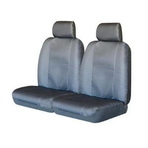 Canvas Seat Covers For Mazda Bt-50 Fronts 11/2011-2020 Grey Single-Cab