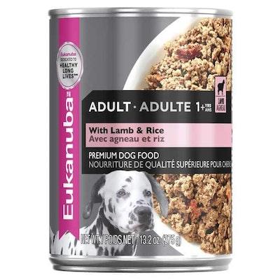 Eukanuba Adult Lamb Wet Dog Food 374G