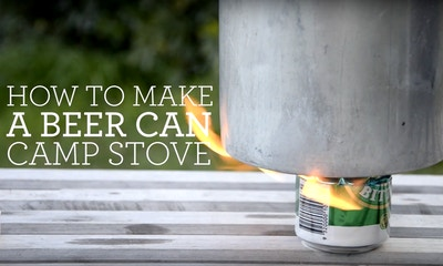 How to Make a Beer Can Camping Stove in 10 Easy Steps