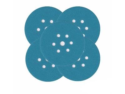 Film Discs Blue 6'' 7 Hole - Packs of 100
